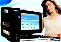 Deepika Padukone for BSNL Net PC